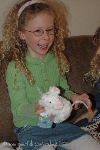 Sarah's new mouse