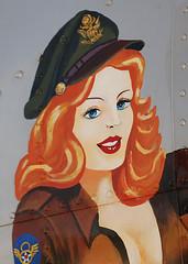 Nose Art Detail (Bluedharma) Tags: colorado aircraft aviation wwii b17 ww2 boeing bomber flyingfortress noseart libertybelle jeffcoairport n390th kbjc bluedharma rockymountainmetropolitanairport 4enginebomber