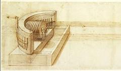 F12r- Codex Atlanticus-Maquina para la frabricación de cuerdas