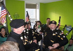 more bagpiping (Suzanne Preston) Tags: irish green st march day drinking parade patricks bagpipes pats hoboken bagpiper bagpipers pattys bagpiping paddys