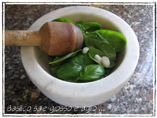 Pesto step by step