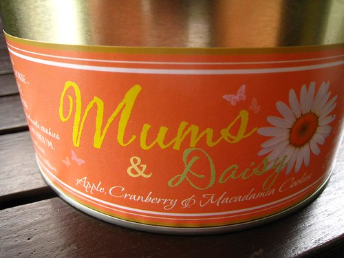 Mums & Daisy Cookie Tin