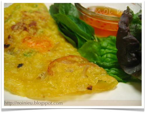 Vietnamese style Pancake