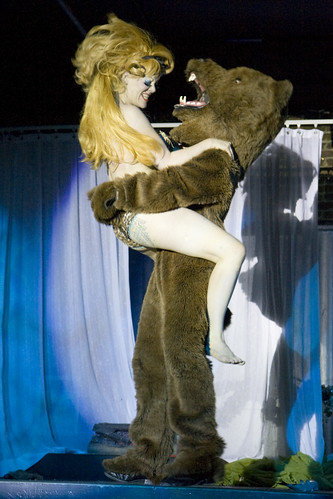 creative commons hi-res photo of the day:  Paula The Swedish Housewife - Oh Bear! (2211 x 3316)