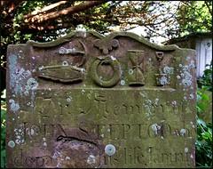 coffin, pick, serpent, hour glass and spade (Simon_K) Tags: church suffolk beowulf eastanglia burghstbotolph fs2013