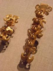 Alligator pendant Panama International style 5th-7th century CE Cast Gold