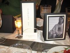 Wedding table stationery