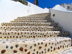Santorini - Ia - Steps 01 (timinbrisneyland) Tags: stairs santorini greece ia
