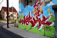 pt6 : poppin' candy canes! (damonabnormal) Tags: street city urban streetart art philadelphia june graffiti nikon mural tag tags spray urbanart writer spraypaint philly graff 2008 girard phl 215 sigma1020mm girardave d80 philadelphiastreetart graffitiwriter philadelphiagraffiti philadelphiaurbanart