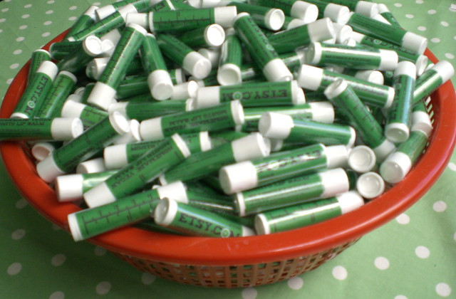 Basket of Lip Balm