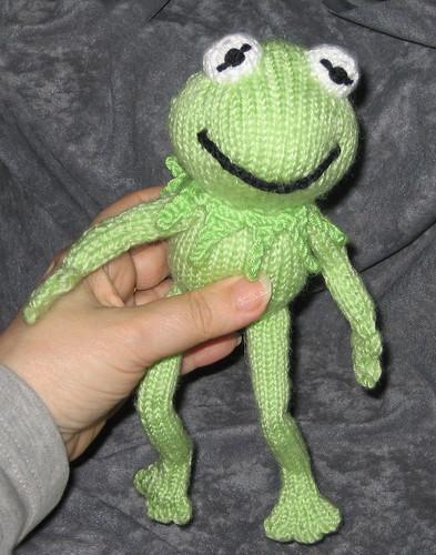 Ravelry: Kermit the Frog crochet pattern pattern by Paula Gee | 500x393