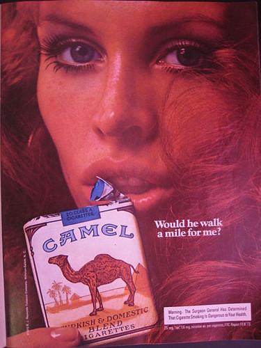 сигареты camel реклама