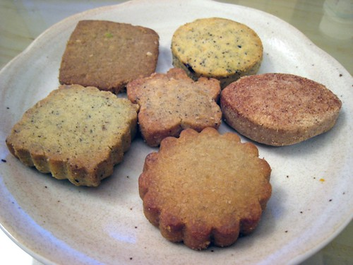 Assorted cookies, Amai Tea House
