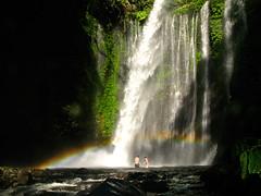 Lucy and Cassius (sgoralnick) Tags: travel vacation indonesia waterfall rainbow couple asia southeastasia strangers lombok gunungrinjani mountrinjani romanticproposal