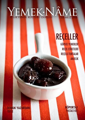Yemek.Nâme Temmuz sayısı kapağı