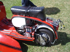 cs engineering 230lc (mark & anne's photos) Tags: vespa rally lambretta scooters custom scooterrally bretta ronniebiggs