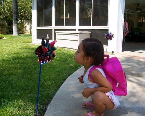 fourth of July pinwheel