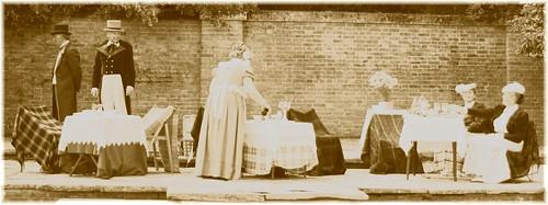 Victorian tea party by bob watt.