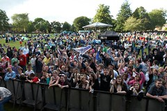 crowd at Oswestry Music Live 001