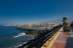 Again the coast (michaelgrohe) Tags: ocean vacation costa holiday beach island coast kanaren canarias atlantic tenerife teneriffa inseln adeje