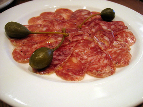 Fuet (dry-cured garlic sausage)