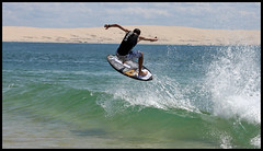 ChocoBump (*r3M'S*) Tags: air wave aerial vague skim pyla skimboard batar lo2