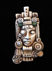 geometric face (SelenaAnne) Tags: art face handmade craft jewelry polymerclay fimo sculpey byhand polymer premo polyclay