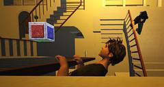 Escher (Max Herzog) Tags: sl secondlife escher