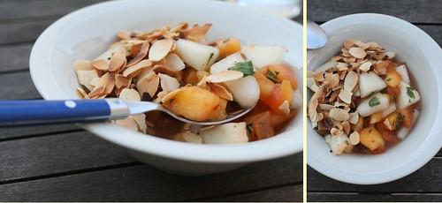 Salade Pêches & Melon