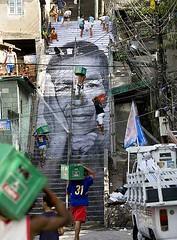 JR y las favelas de Río de Janeiro