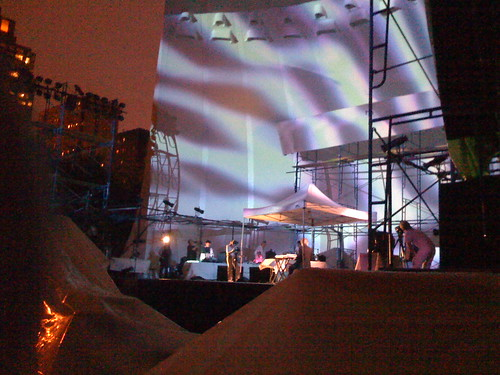 Light Show at Lincoln Center