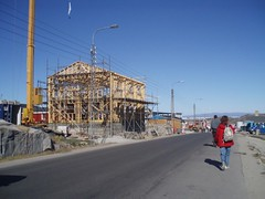 Husbygning p grnlandsk (pingvin2007) Tags: grnland ilulissat isbjerge