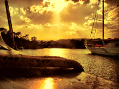 Golden dreams (aliaydogmus35) Tags: sunset yellow sunrise gold deniz yat sar tekne glge mula gcek altn 5photosaday halat freephotos platinumphoto aplusphoto colourartaward flickrlovers trshot