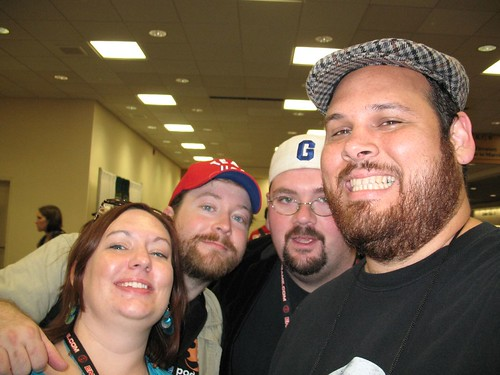 The Brilliant Gameologists (Meg, Josh and Zeke) & Me