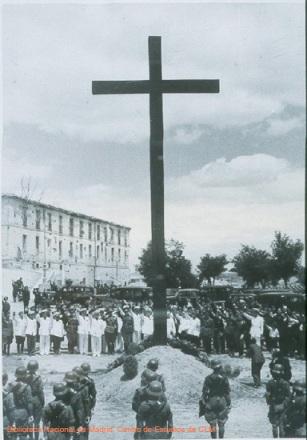 Visita del Conde Ciano a Toledo (España) en julio de 1939