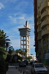 Torre de Salvamento Martimo. Sea Rescue Tower. (Calamity John) Tags: sea rescue tower torre traffic control trfico gibraltar straits martimo salvamento