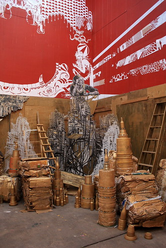 Swoon at Deitch Studios