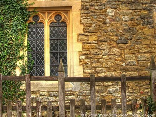 Chantry Chapel window and fence