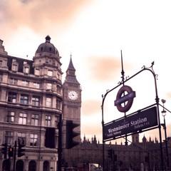 Big Ben Underground (Westminster Station) (Gilderic Photography) Tags: street city travel light england urban london