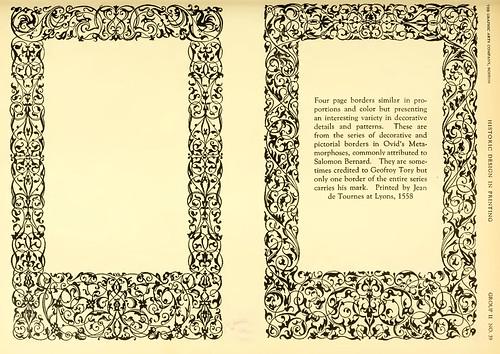 08- Ejemplos de marcos y cenefas para la Metamorfosis de Ovidio atribuidas a Salomon Bernad- editado en 1558