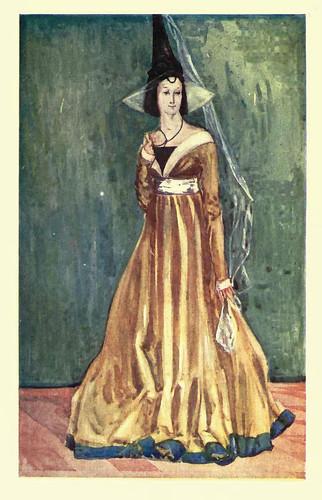 09- Vestimenta mujer epoca Eduardo IV (1461-1483)