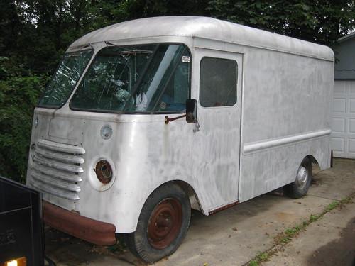 Vintage step vans for sale