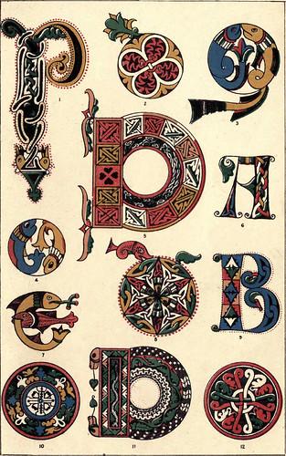 03- Siglo VIII-Ejemplo de los primeros caracteres visigóticos en español.