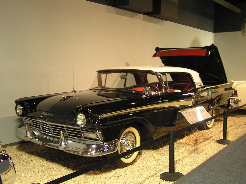 National Auto Museum, Reno - 1957 Ford retractable hardtop
