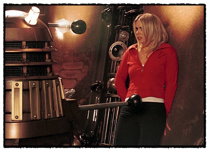 billy piper and dalek