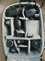 Everything I need to shoot everything. (Ryan Brenizer) Tags: apple equipment mybag iphone