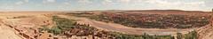 Panorama from Kasbah Aït Benhaddou (Thomas van Ardenne) Tags: panorama geotagged marocco kasbah kasbahaïtbenhaddou hugin quarzazate aïtbenhaddou perfectpanoramas vodw geo:lon=7129269 magictrip jurorsno geo:lat=31047620