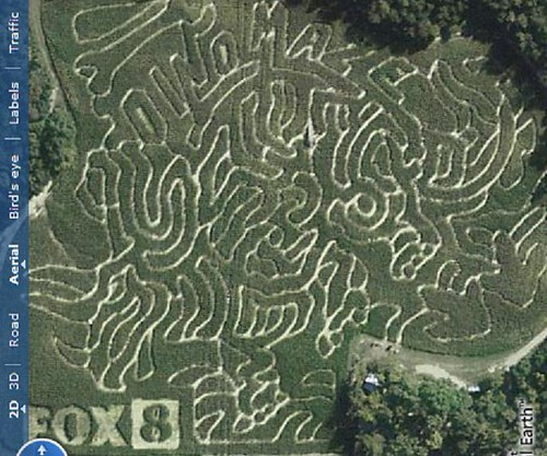 Kersey Valley Maize Adventure Maze