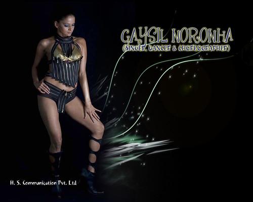 GAYSIL NORONHA - SINGER, DANCER and CHOREOGRAPHER