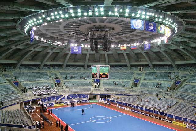 Copa do Mundo de Futsal - Maracanãzinho